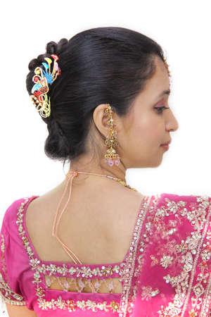 indian bride: Young Indian Bride