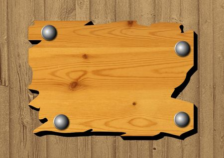 pieces of furniture: Wooden Board Stock Photo