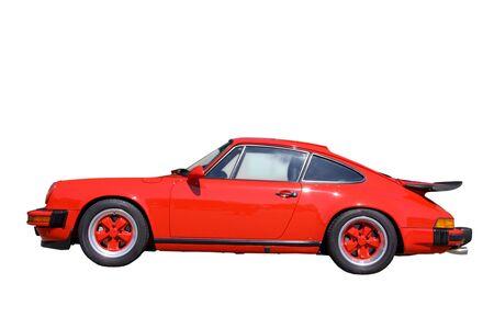 super hot: Red Sports Car