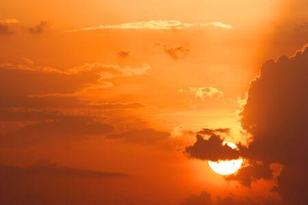 Sun Set Standard-Bild - 5349973