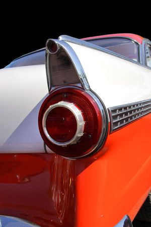 Tail Lamp Of A Classic Car photo