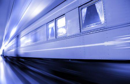 railway transportation: Fast Moving Train
