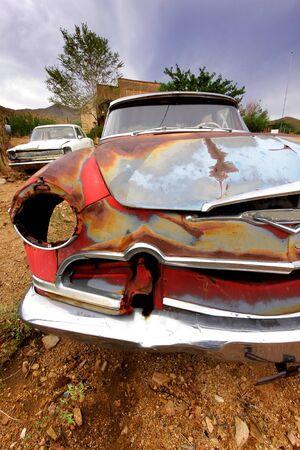 car body: Old Rustic Car Body