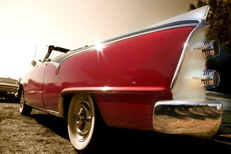 Klassieke auto Redactioneel