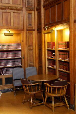Biblioteca de Libros de Derecho Foto de archivo - 5382722