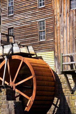 Glade Creek Grist Mill Wheel photo
