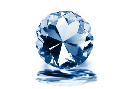 zircon: Blue diamond