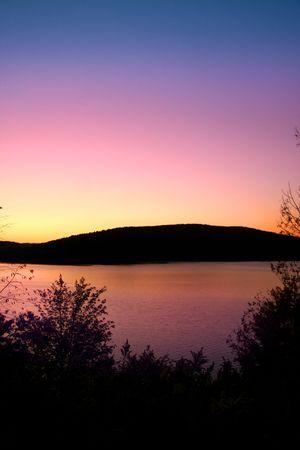 allegheny: Scenic landscape Stock Photo