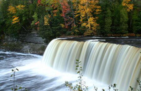 Tahquamenon water falls photo