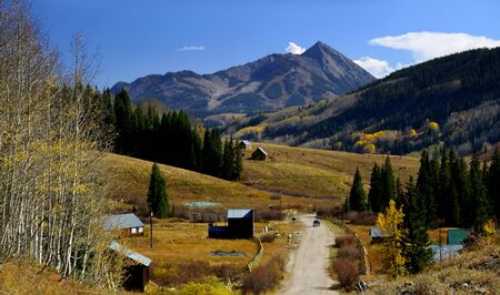 butte: Mt Crested Butte