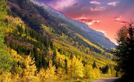 Scenic Colorado Stock Photo