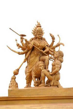mano de dios: Llevado hind� Kali  Foto de archivo