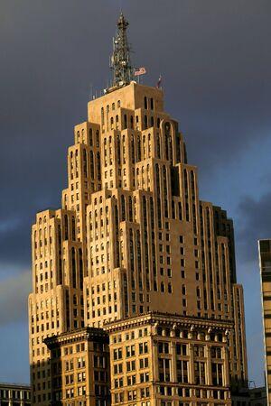 Historic tall building photo