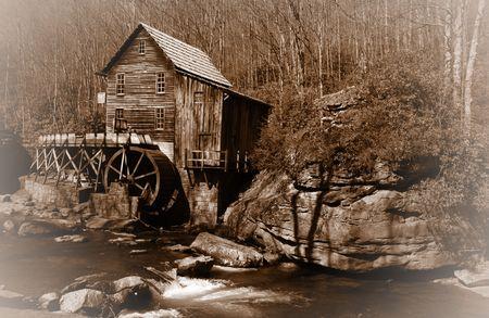 grist: Glade creek Grist mil
