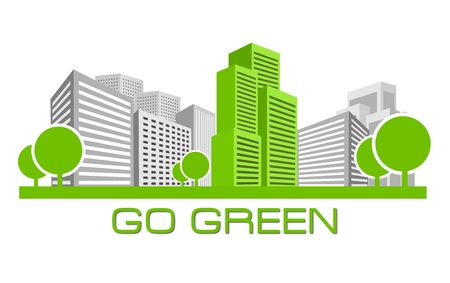 polluted cities: Go Green