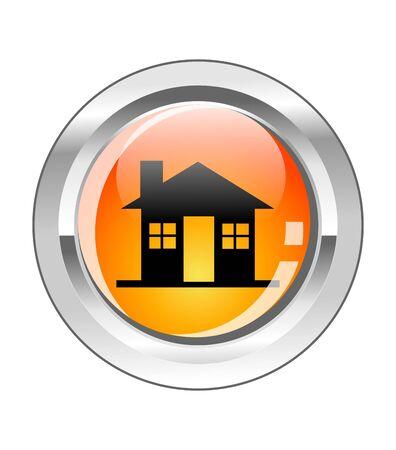 Home glassy button