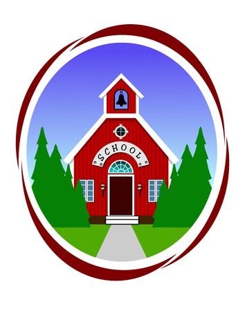School icon 版權商用圖片
