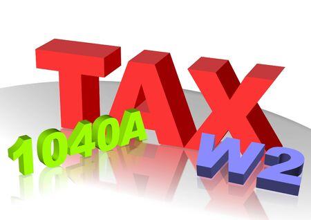 Tax icon Фото со стока