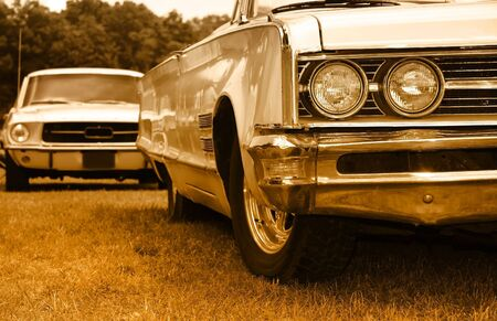 Muscle cars Stock Photo - 6201232