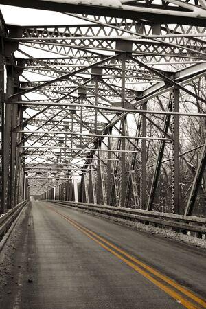 Metal bridge photo