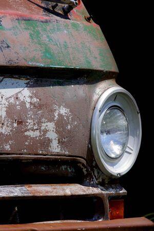 Rustic van photo