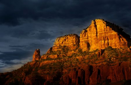 Sedona red rocks photo