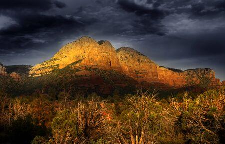 sedona: Sedona red rocks Stock Photo