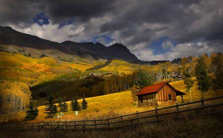 colorado mountains: Scenic landscape Stock Photo