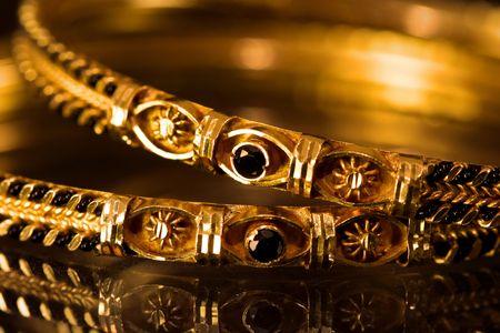 motif indiens: Bijoux antique Banque d'images