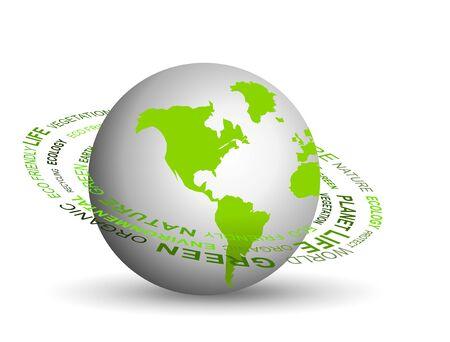 Go green concept Stock Photo - 6569610