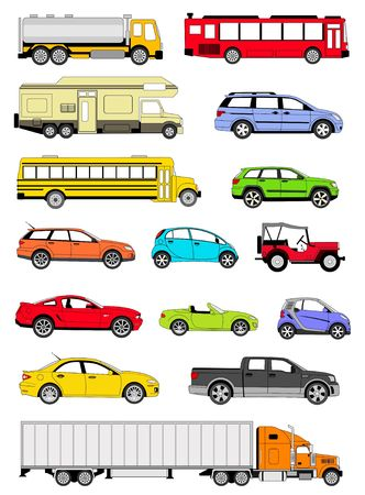 mini bus: Transportation icons