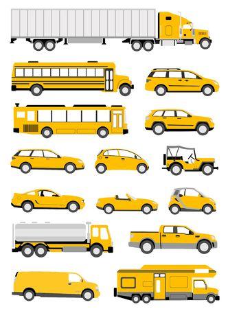 mini: Transportation icons