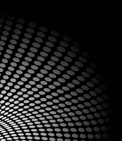 gray: abstract background made with dots