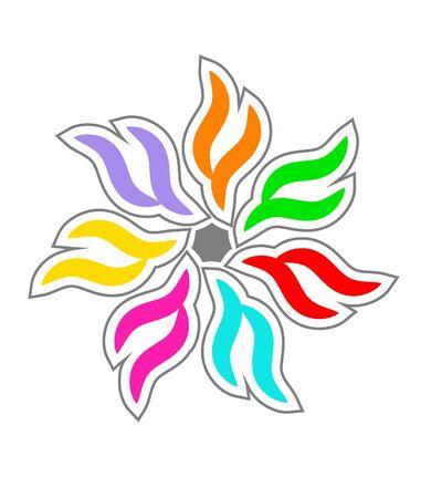 Colorful design element photo