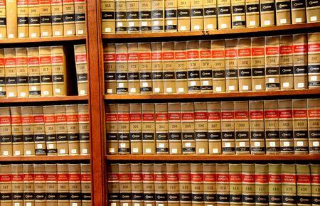 Law book library Archivio Fotografico
