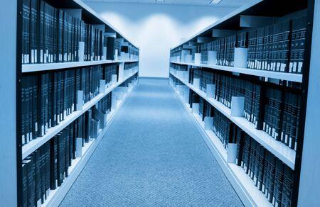 shelfs: Book shelfs in university library