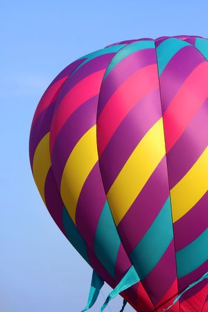 uplift: Hot air balloon Stock Photo