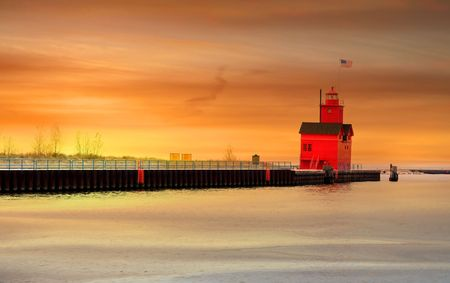 Holland light house Stock Photo - 7288473