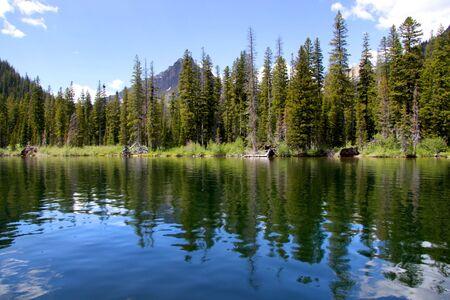 Two medicine lake Stock Photo - 7652779