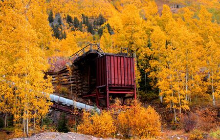Old mill in Colorado photo