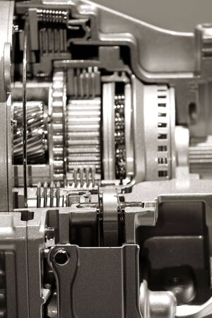 Close up shot of automotive engine components Stock Photo - 7862501