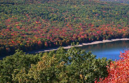 eagle falls: Allegheny national park