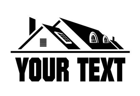 toiture maison: ic�ne accueil dans la couleur noire