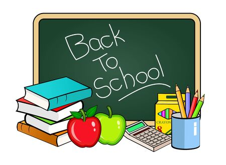 Back to school concept Stock Photo - 7955294
