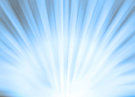Abstract sun rays background in blue color Stock Photo - 8485001