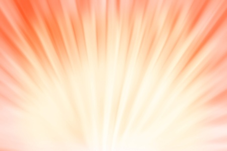 Abstract sun rays background in orange color Stock Photo - 8485003