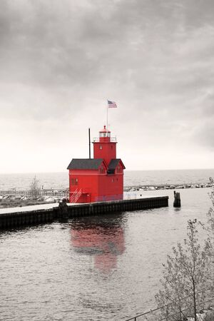 Holland Michigans light house photo