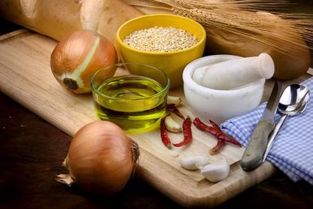 enriched: Bread preparation ingrediants