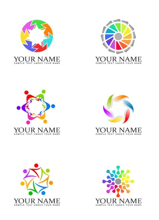 round logo: Design elements for logo