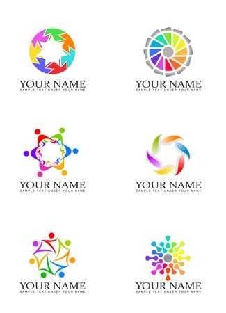 Design elements for logo Фото со стока - 9008742